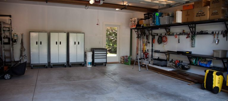 Establish the inventory for your garage